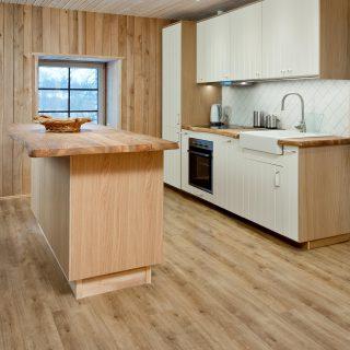 Modernios grindys virtuvėje
