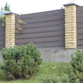 WPC lentų tvora