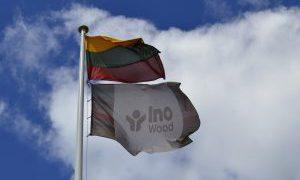InoWood kolektyvo sporto šventė
