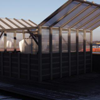 Poilsio zona ant stogo