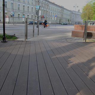 Lauko kavinės terasa Vilniaus centre