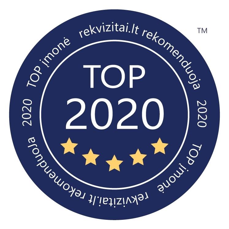 UAB Intervilža – TOP įmonė 2020